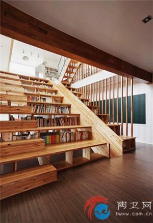 半圆形楼梯设计效果图
